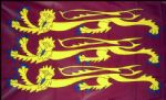 "RICHARD THE LIONHEART - 18"" X 12"" FLAG"